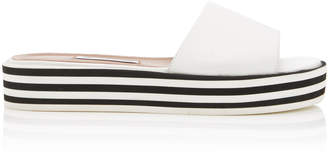 Tabitha Simmons Sophia Leather Slides