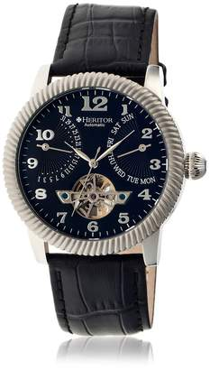 Heritor Men's HERHR2002 Piccard Leather Watch