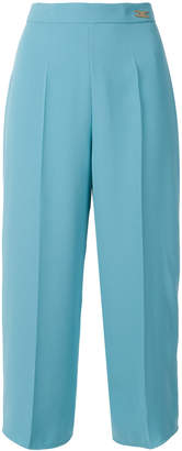 Elisabetta Franchi cropped high waisted trousers