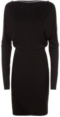 Alexander Wang Dolman Sleeve Zipper Dress