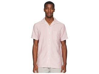 Onia Vacation Seersucker Stripe Shirt