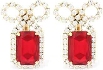 Ca&Lou Louise Ruby Clip-On Earrings
