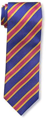 J.Mclaughlin Men's Diagonal Striped Silk Tie