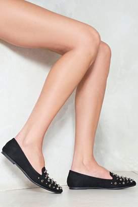Nasty Gal Stick Out Studded Loafer