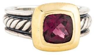 David Yurman Garnet Petite Albion Ring