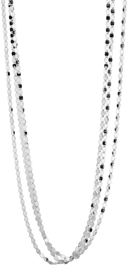 "Lana Short Nude Three-Strand Necklace, 16"""