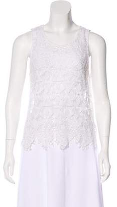 Frame Lace Sleeveless Top