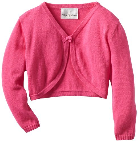 Rare Editions Girls 7-16 Cardigan Bow Detail Sweater