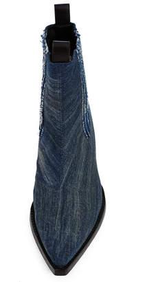 Diesel Red Tag X Shayne Oliver Washed Denim Boots