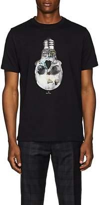 Paul Smith Men's Skull Bulb-Print Organic Cotton T-Shirt