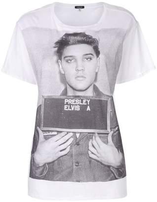 R 13 oversized Elvis mugshot T-shirt