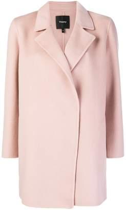 Theory oversized boxy-fit coat