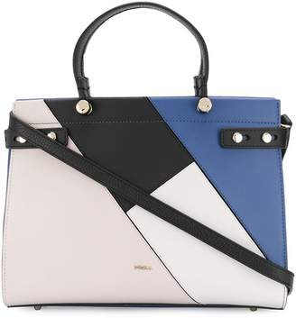 Furla colour block handbag