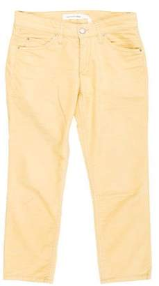 Etoile Isabel Marant Low-Rise Straight-Leg Pants