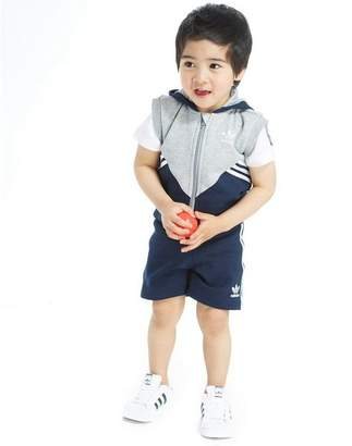 adidas 3 Piece Sleeveless Suit Infant