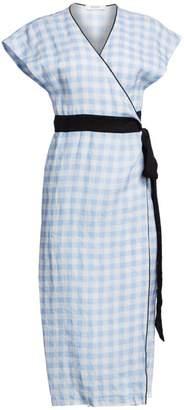 Marysia Swim Coopers Linen Wrap Dress