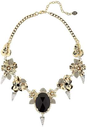 Vittorio Ceccoli Pansy & Spikes Necklace