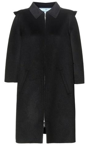 pradaPrada Virgin Wool-blend Coat