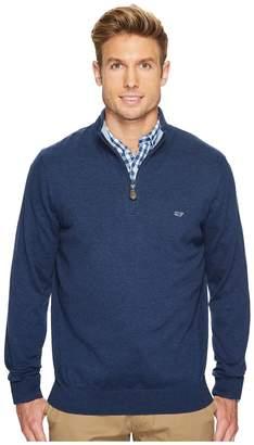 Vineyard Vines Cotton 1/4 Zip Sweater Men's Clothing