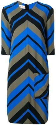 Marni optical print dress