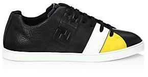 29f8795ff0c2 Fendi Men s Colorblock Leather Low-Top Sneakers