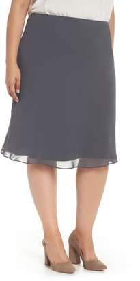 Nic+Zoe Paired Up Chiffon Skirt