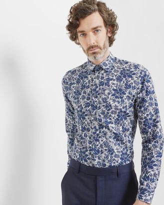 Floral and paisley cotton shirt $225 thestylecure.com