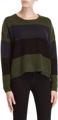 SONO Ci Color Block Long Sleeve Sweater