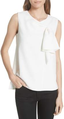 Ted Baker Kelliss Sculpted Bow Sleeveless Top