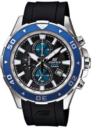 Casio Edifice Mens Marine Chronograph Watch EFM501-1A2