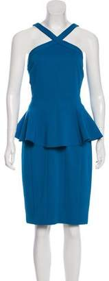 Zac Posen Sleeveless Peplum Dress w/ Tags