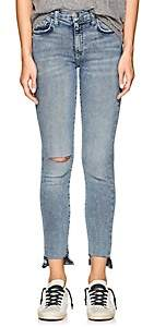 Current/Elliott WOMEN'S THE HIGH WAIST STILETTO SKINNY JEANS - BLUE SIZE 30