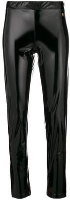 Versace shiny stretch leggings