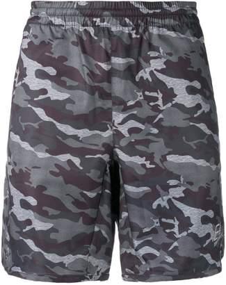 Emporio Armani Ea7 camouflage print swim shorts