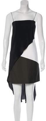 Narciso Rodriguez Asymmetrical Midi Dress