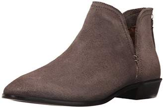 Kenneth Cole Reaction Women's Loop There It is Flat Notch Suede Ankle Bootie