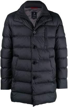Fay padded fitted coat