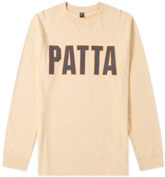 Patta Long Sleeve Athletic Logo Tee