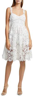French Connection Alicia A-Line Lace Dress