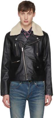 Tiger of Sweden Black Leather Fygare 5 Jacket
