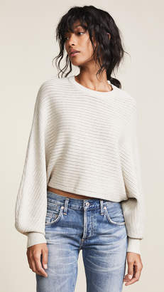 Line & Dot Iris Cropped Sweater