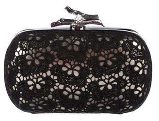 Diane von Furstenberg Patent Leather Clutch