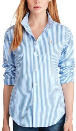 Polo Ralph Lauren Poplin Gingham Kendal Shirt