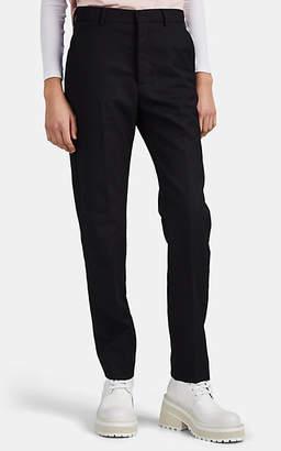 Ami Alexandre Mattiussi Women's Virgin Wool Gabardine Slim Trousers - Black