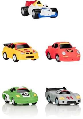 Elegant Baby Racecar Bath Squirties Toy Set