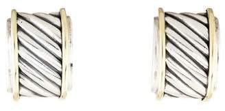 David Yurman Cable Classics Cigar Band Earrings