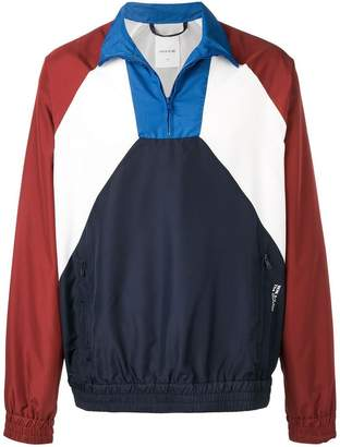 Wood Wood colour block pull-on jacket