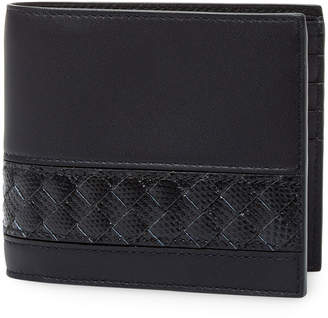 Bottega Veneta Leather Foldover Wallet