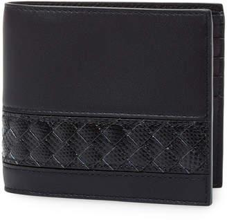 Bottega Veneta Leather Foldover Wallet
