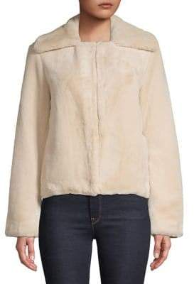 Theory Luxe Faux Fur Jacket